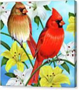Cardinal Day Canvas Print