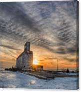 Cargill In The Sun Flare Canvas Print