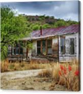 Cargill Residence At Ruby Arizona Canvas Print