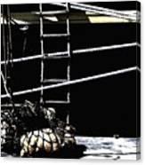 Cargo Loading Canvas Print