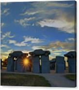 Carhenge - Nebraska - Sunset Canvas Print