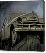 Carhenge - Plymouth Rock Canvas Print