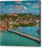 Caribbean Color Palette Canvas Print