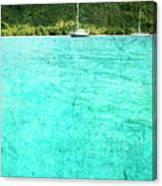 Caribbean Cruising Canvas Print