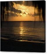 Caribbean Early Sunrise 5 Canvas Print