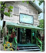 Caribbean Gift Shop Canvas Print