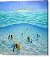 Caribbean Island Dream Canvas Print