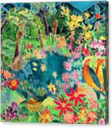 Caribbean Jungle Canvas Print
