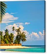 Caribbean Paradise Canvas Print