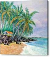 Caribbean Retreat Canvas Print