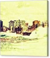 Caribbean Waves Canvas Print
