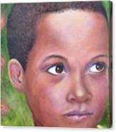 Caribe Child Canvas Print