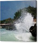 Caribe Splash Canvas Print