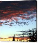 Cariboo Country Sunset   Canvas Print