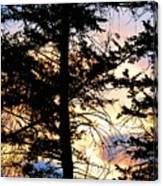 Cariboo District Sunset Canvas Print