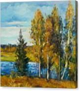 Cariboo Fall Canvas Print