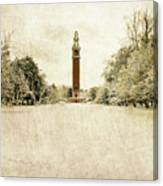 Carillon In The Snow Canvas Print
