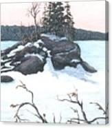 Carin Island Canvas Print
