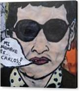 Carlos The Jackal Canvas Print