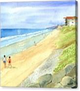 Carlsbad Beach Canvas Print