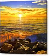 Carlsbad Sunset Canvas Print