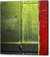 Carlton 6 - Firedoor Abstract Canvas Print
