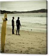 Carmel Beach, Ca Canvas Print