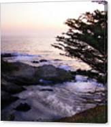 Carmel Highlands Sunset 2 Canvas Print