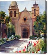 Carmel Mission Basilica Canvas Print