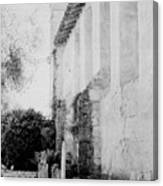 Carmel Mission Cemetery Canvas Print