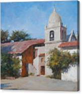 Carmel Mission Canvas Print