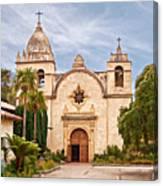 Carmel Mission San Carlos Borromeo Canvas Print