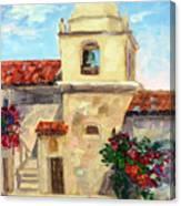 Carmel Mission, Summer Canvas Print