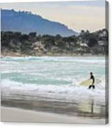 Carmel Surf Canvas Print