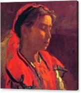 Carmelita Requena 1870 Canvas Print
