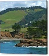 Carmelite Monastery Near Point Lobos Canvas Print