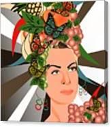 Carmen Miranda Canvas Print