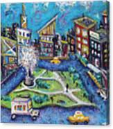 Carmine Street Canvas Print
