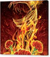 Carnation - Rebirth Canvas Print