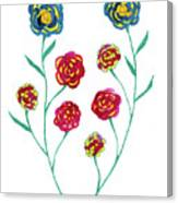 Carnations Canvas Print