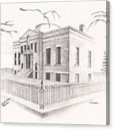 Carnegie Library Mitchell South Dakota Canvas Print