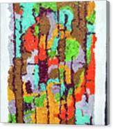 Carnevale Quilt Canvas Print
