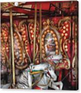 Carnival - The Carousel Canvas Print