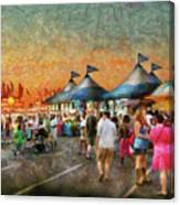Carnival - Who Wants Gyros Canvas Print
