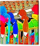 Carnival Critters Canvas Print