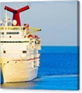 Carnival Cruise Ship Canvas Print