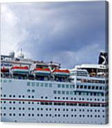 Carnival Cruise Ship Canvas Print