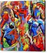 Carnival- Large Work Canvas Print