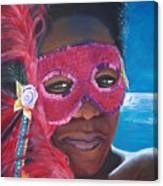 Carnival Mask 1 Canvas Print
