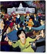 Carnival of Democracy Canvas Print